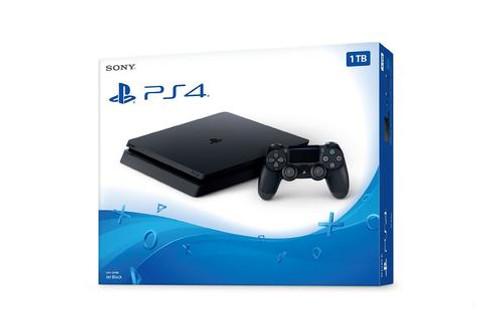 Sony PlayStation 4 1TB Console - Colour: Black