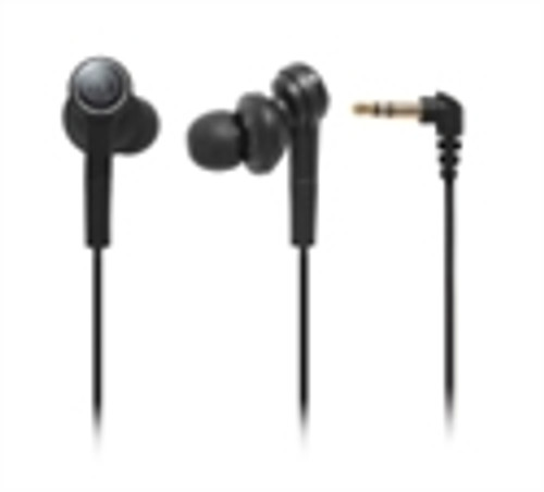Audio Technica ATH-CKS77BK Solid Bass In-ear Headphones