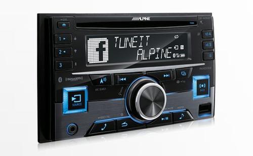 Alpine CDE-W265BT - Free Shipping. Advanced Bluetooth CD Receiver -