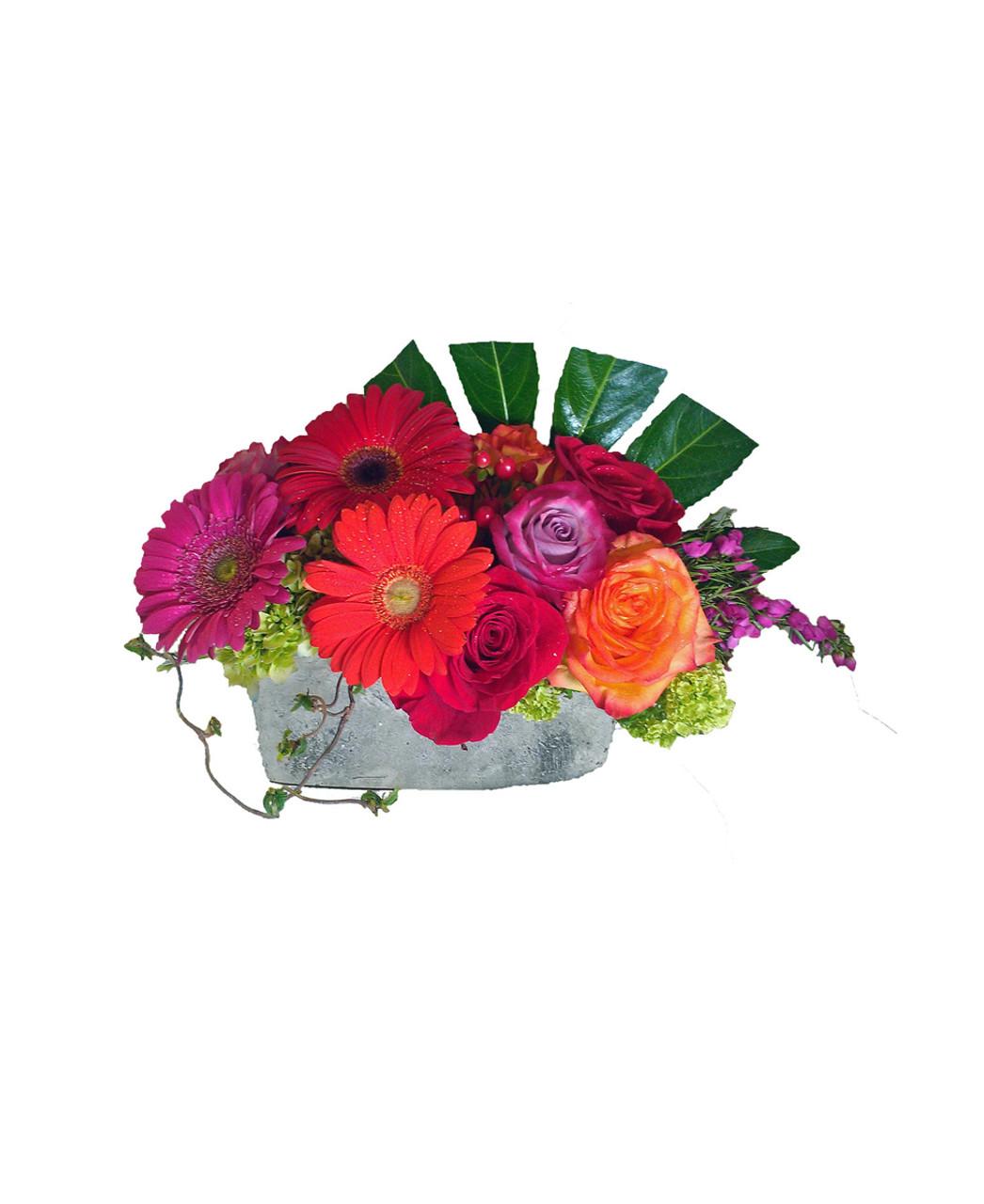 Gorgeous Gerberas & Roses - Rose & Blossom