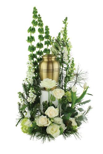 Tears Of Comfort Urn Arrangement Rose Amp Blossom
