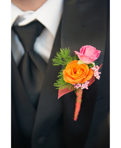 Sunset Boutonniere