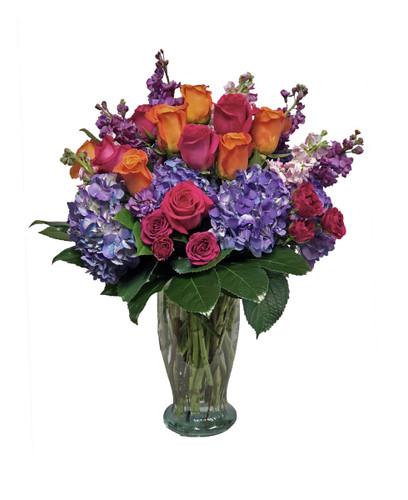 Romantic Sunset Bouquet