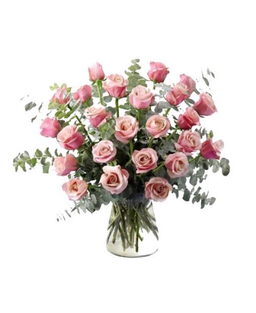 Breathtaking Passion- 2 Dozen Roses