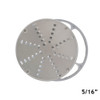 "American Eagle AE-VS12NH 5/16"" Vegetable Shredding Disk"