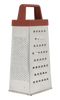 Pro Restaurant Equipment Box Grater For Parmesan Cheese, Ginger, Vegetables
