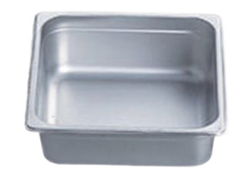 "Pro Restaurant Equipment Bain Marie Pan, Half Size, Extra Deep, 13"" x 10.5"" x 6"""