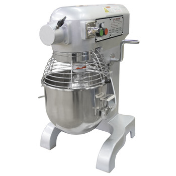 American Eagle AE-10NA 10Qt Planetary Mixer w/Safety Guard, 2/3HP, 3 speeds