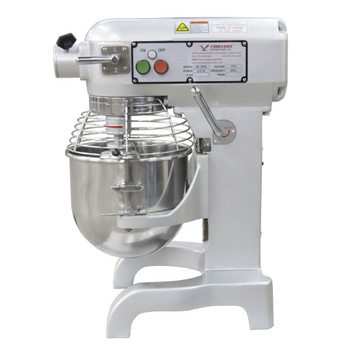 American Eagle AE-10NA 10Qt Planetary Mixer with Safety Guard, 2/3HP, 3 speeds, 110V/1Ph/60hz Side VIew
