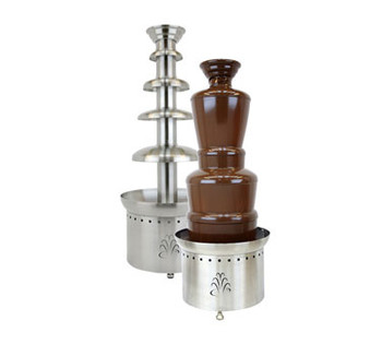 "Buffet Enhancements Chocolate Fountain, SS, 3 Tier, 27"", 100v 50hz"