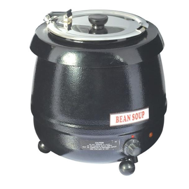 Pro Restaurant Equipment Soup Kettle - Black