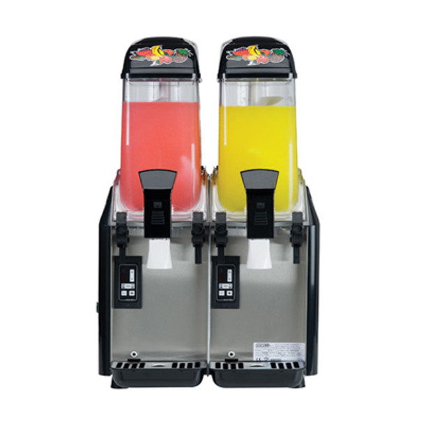 Elmeco AFCM-2 Drink Dispenser - Two (2) 3.2 Gallon Tanks