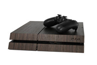 PlayStation 4 / Pro / Slim wood cover
