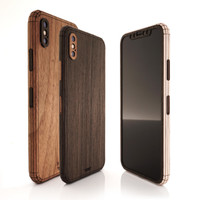iPhone X / XS / XR wood cover