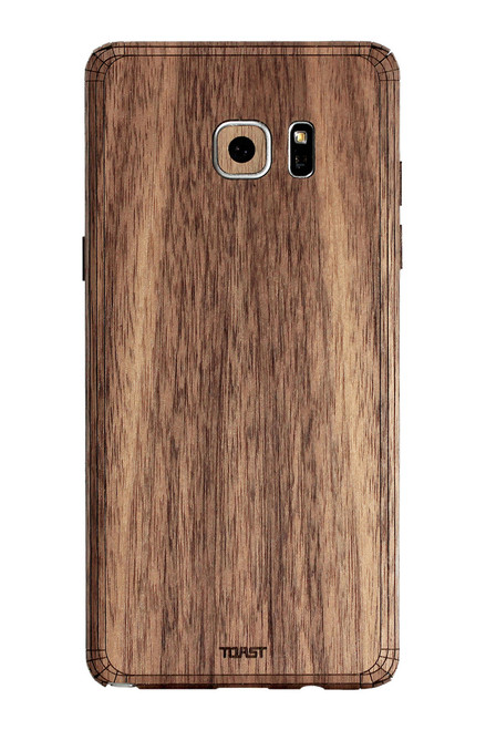 Note 7 Walnut back panel