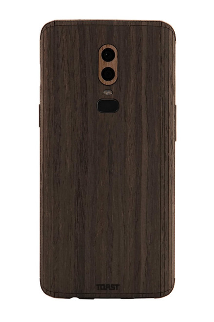 OnePlus 6 wood cover