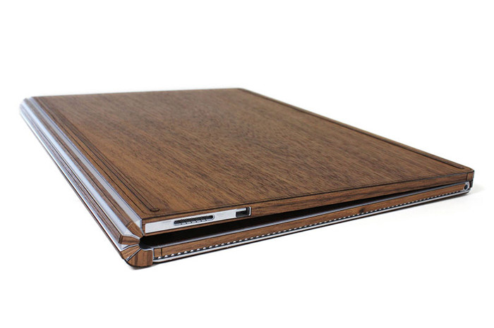 Real Wooden Handmade Microsoft Surface Book Toast