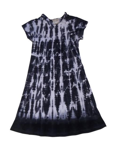 Girls Flutter By Dresses - Black Bird