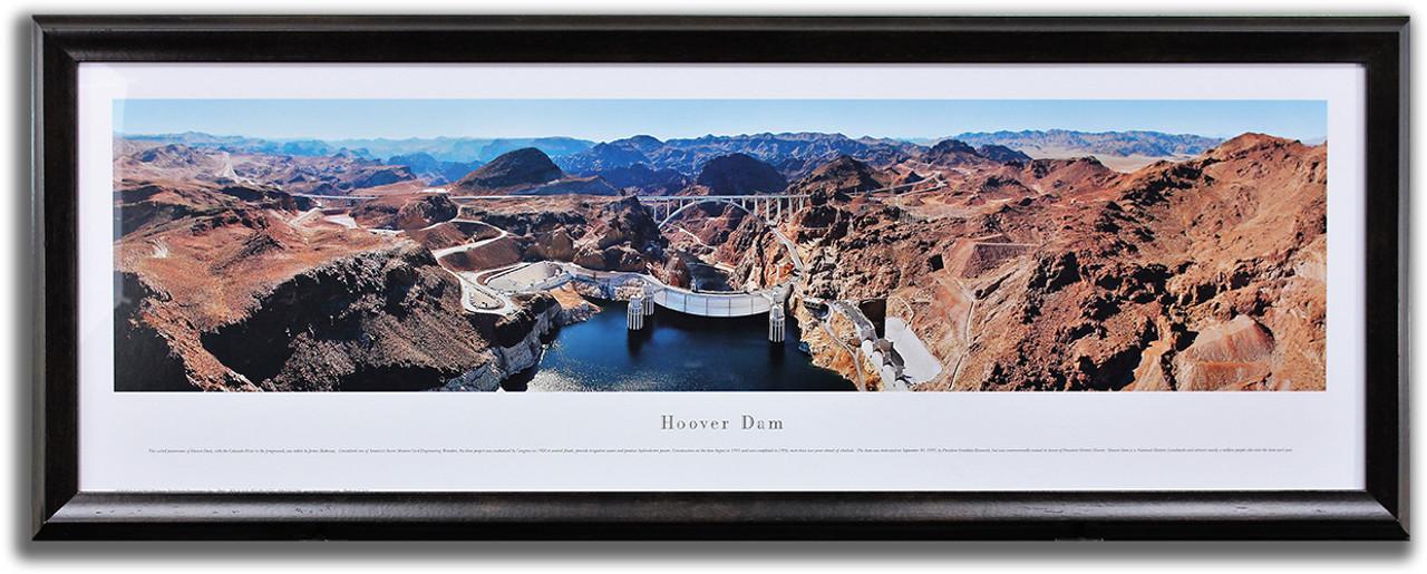 Hoover Dam and Mike O'Callaghan–Pat Tillman Memorial Bridge.
