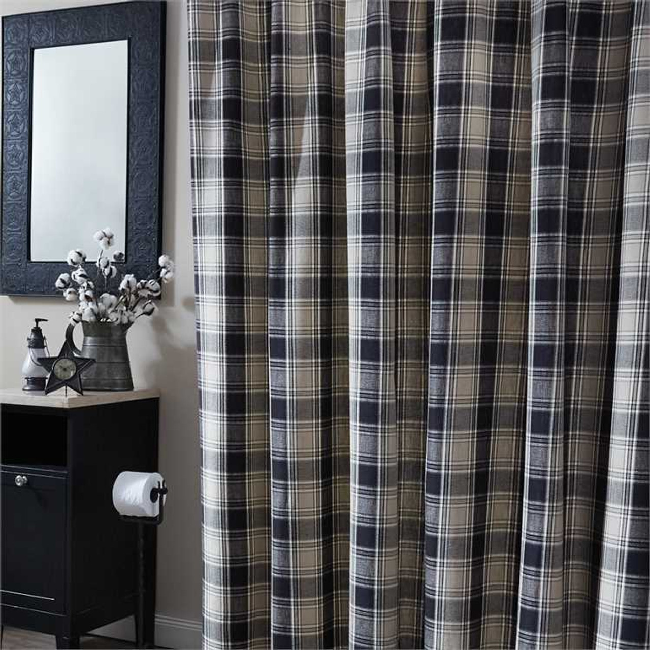 Soapstone Shower Curtain - Size - 72 x 72 - Jake\'s Country Trading Post