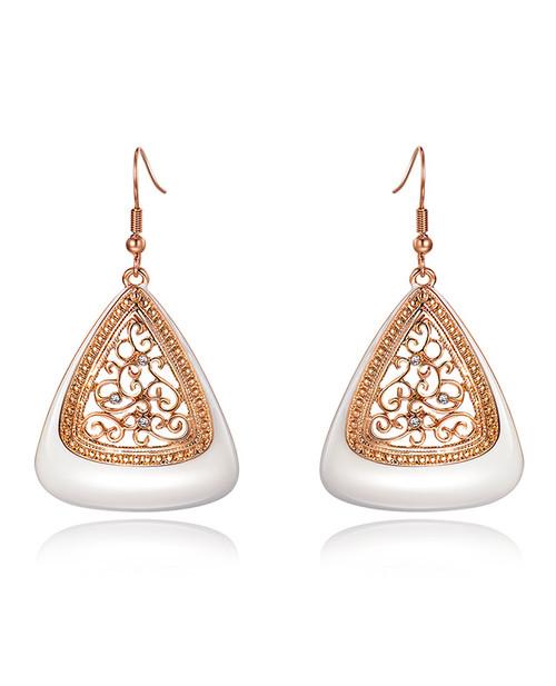 Ivory Indian Earings