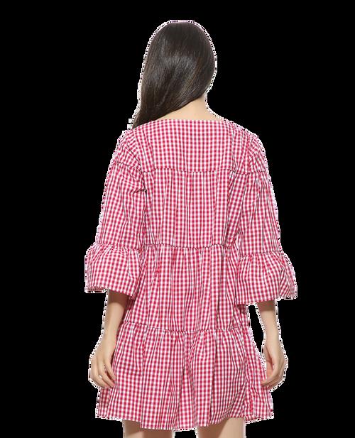 Double Plaidinum Dress