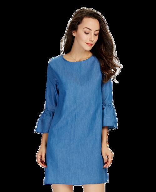 Sample Blue Dress