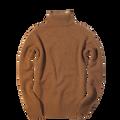 Cashmere/Merino Turtleneck Sweater