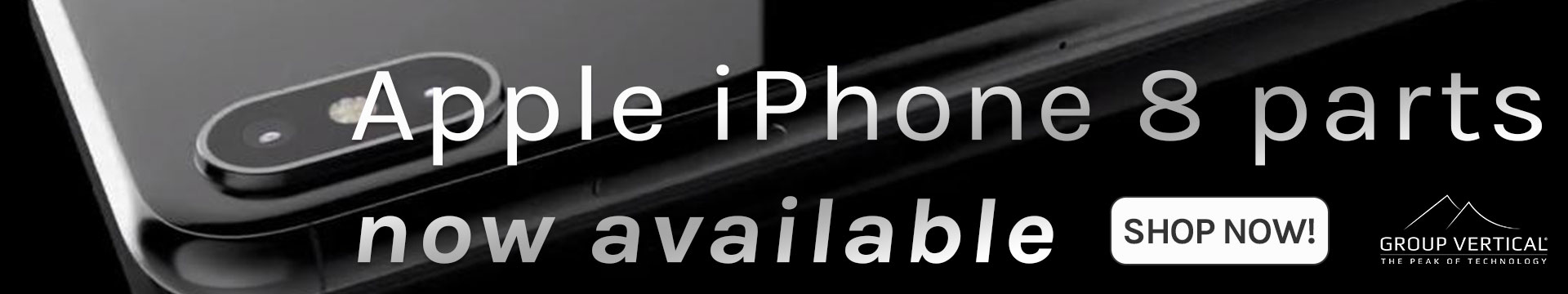Iphone 8 parts now in stock