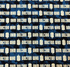 Doctor Who Greek Letter Fabric