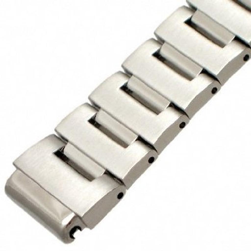 Genuine Seiko Steel WatchBand for Monster Watch 20mm. - Main