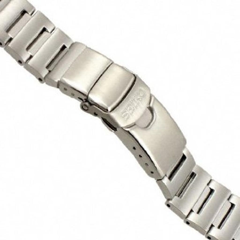 Genuine Seiko Steel WatchBand for Monster Watch 20mm.