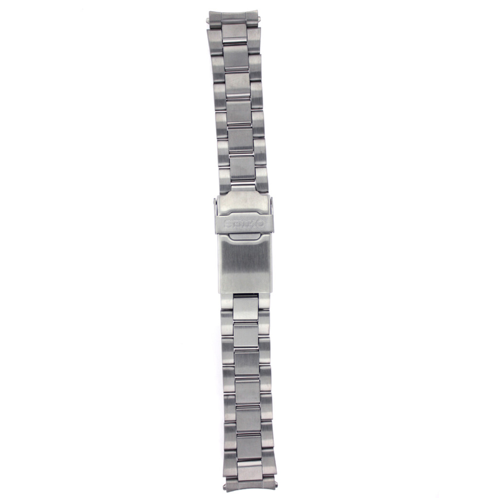 Seiko Original Stainless Steel Watch Band 18mm and Genuine Seiko Spring Bars