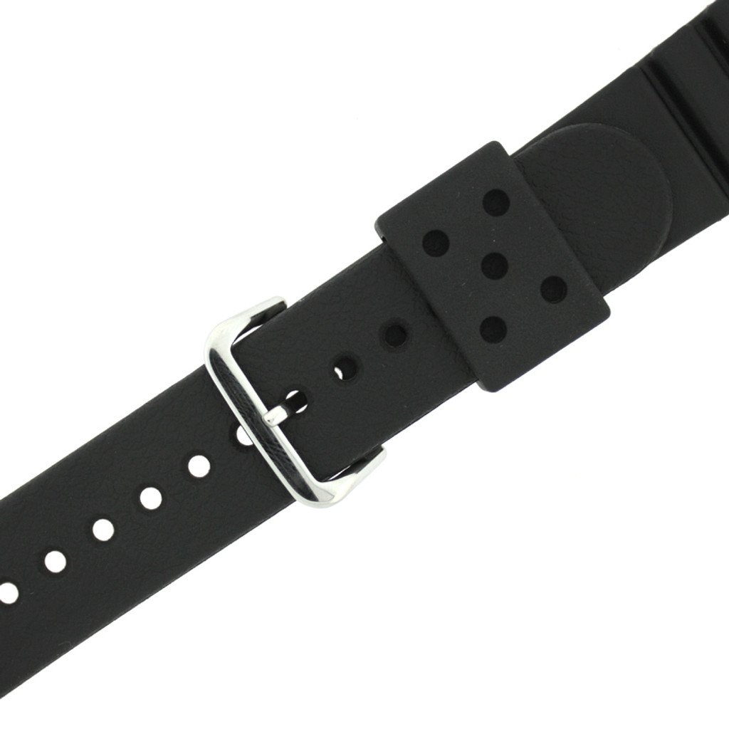 Seiko Pro Diver Strap 22mm, Black, Part 4F24ZZ - Main