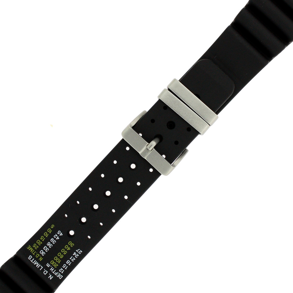 Citizen Watch Band Aqualand 24mm Rubber Watch Strap 59-L7322 - Main