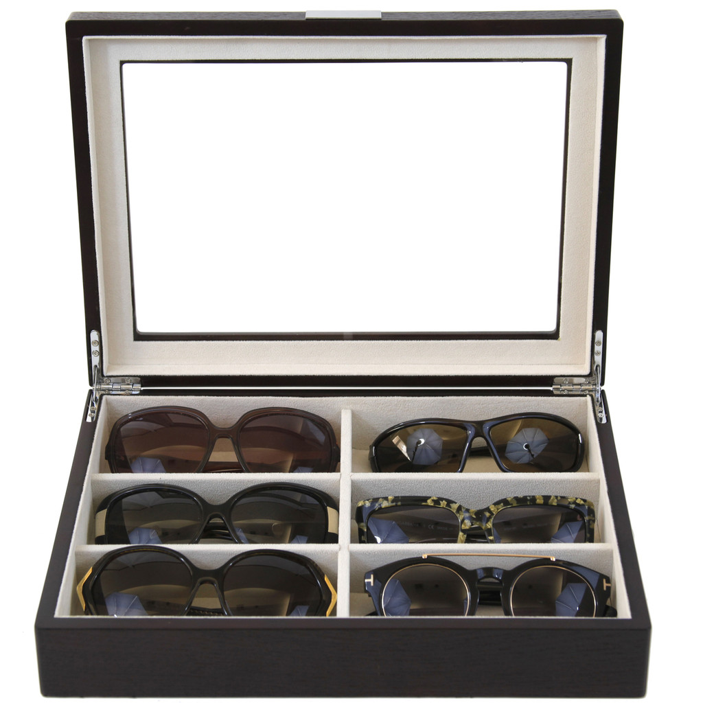 Sunglass Storage and Display Case by Tech Swiss - Top View
