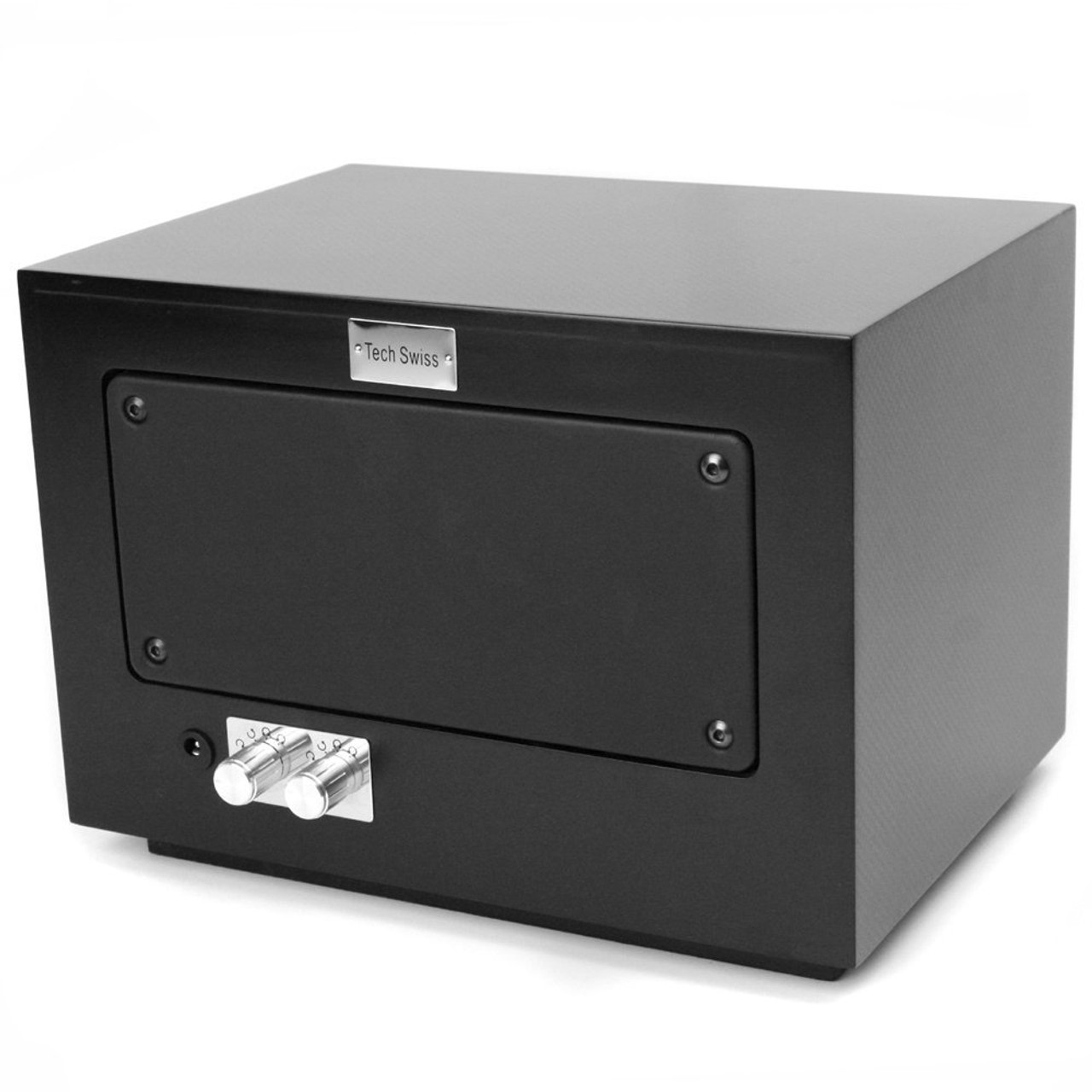 Watch Winder Double Wood Black Carbon Fiber - Main