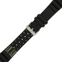 Citizen Watch Band Hyper Aqualand  Eco Drive 20mm Rubber Watch Strap 59-L7404 - Main