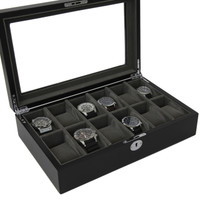 Black Watch Box - Open View