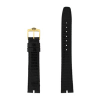 Gucci Watch Band 16mm Black model 2000M