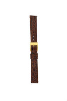 Gucci Watch Band 12mm Brown Genuine Leather Model 2300L 6000L