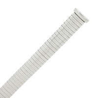 Silver Tone Replacement Metal Expansion Band