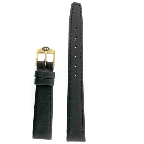 Gucci 6000L watch strap black