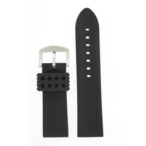 Silicone Rubber Watch Band Stainless Steel - Main