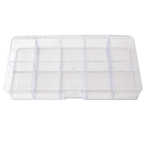 Paylak Compact Storage Container Box Multi-Functional Utility Box 10 Divided Slots - Main