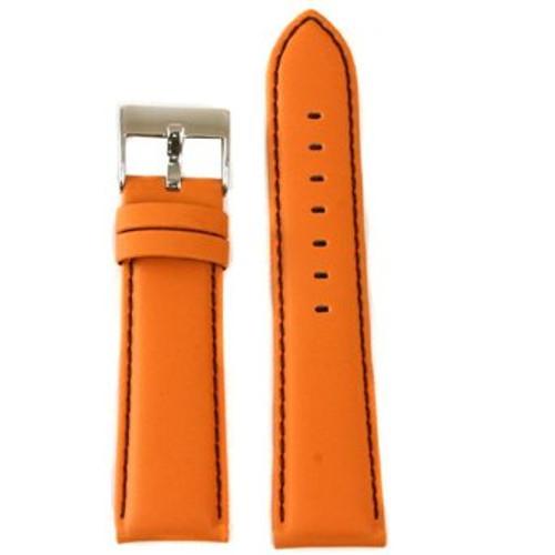 Orange Nylon Watch Band - Main