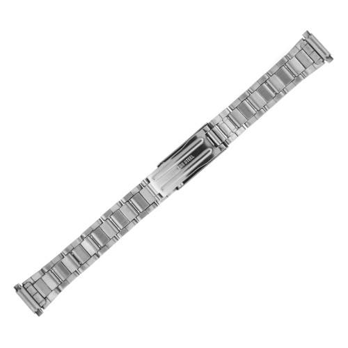 Watch Band Link Metal Stainless Steel Adjustable Spring-Ends Ladies 12-15mm - Main
