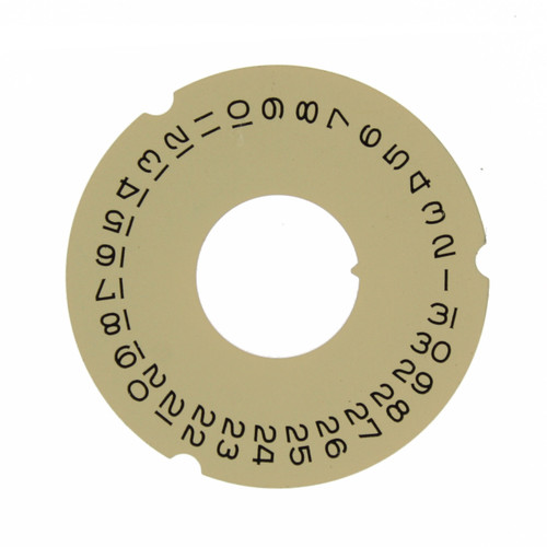 Date Dial Disc to Generic Rolex  3055 Champagne Color 2557-3055G - Main