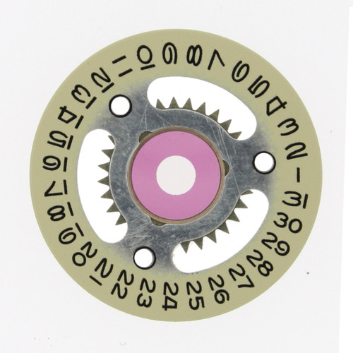 Date Dial Disc  Rolex  2135 Champagne Color