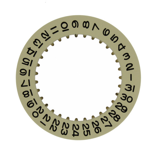 Date Dial Disc to Generic Rolex  3135 and 3155 Champagne Color 2557-3135G - Main